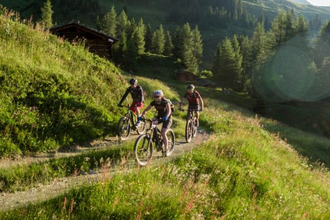 Mountainbiken in Kappl